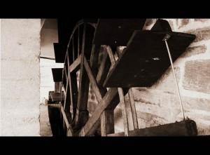 Roue - Le Moulin à eau Guipry